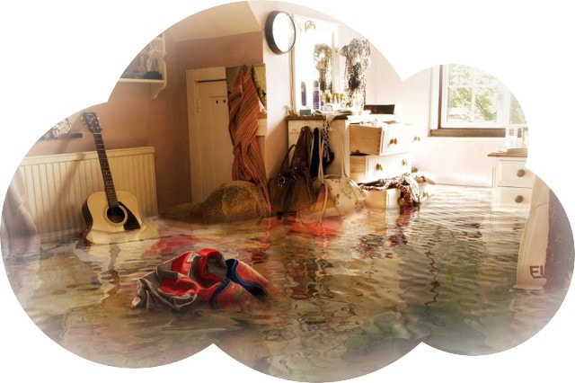 Соседи затопили