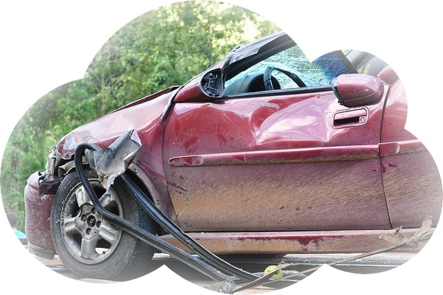 Сонник совершила аварию на машине